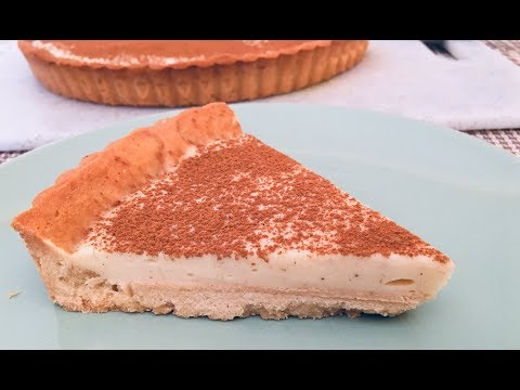 HOW TO MAKE  MILK TART -MILK TART RECIPE