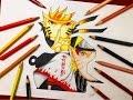 Speed Drawing - Naruto 7th Hokage Evolution (Naruto Shippuden) [HD]