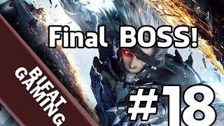 Metal Gear Rising:Revengeance-Final BOSS HD! Pc Gameplay Part 18