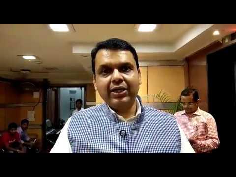 Maha CM exclusive byte on Chaurai & Jamghat Dam at New Delhi