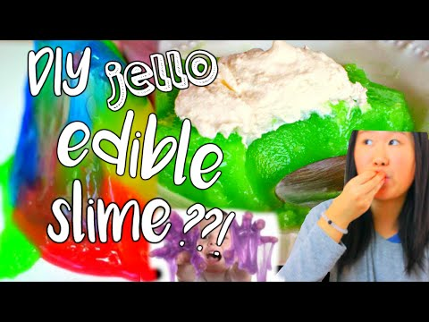 Toby Knapp - OMG: Jell-O has EDIBLE SLIME??! Yup! Here's what you need to know!