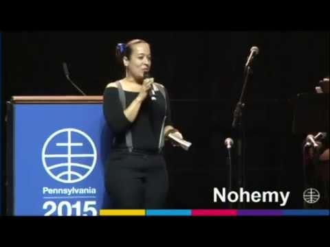 Nohemy García Pennsylvania 2015 Mennonite World Conference