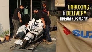 Suzuki Hayabusa 2017 Unboxing India thumbnail