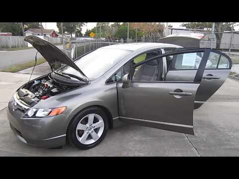 SOLD 2006 Honda Civic EX 72K Miles VTEC One Owner Meticulous Motors Inc Florida For Sale