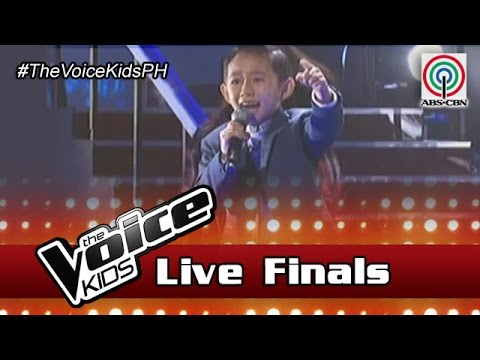 "The Voice Kids Philippines Season 3 Live Finals: ""Mangarap Ka"" by Joshua"