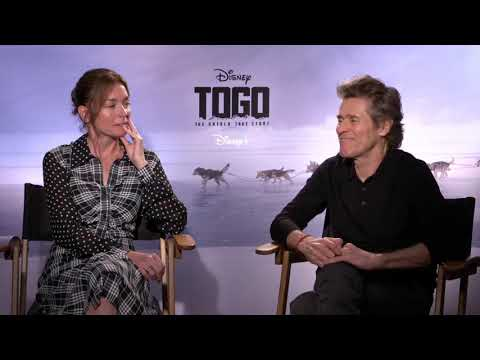 William Dafoe & Julianne Nicholson Discuss Making Disney+ Original | Togo
