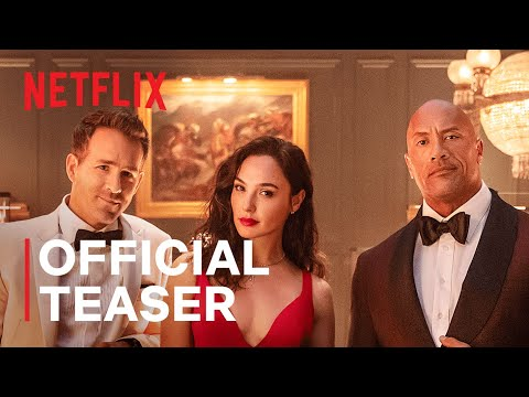 RED NOTICE | Official Teaser | Dwayne Johnson, Ryan Reynolds, Gal Gadot | Netflix India