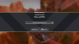 Instant karma!! apex legend hacker!! Awesome new report system