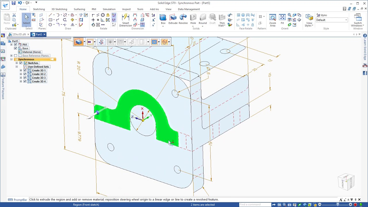 Parts diagram program auto electrical wiring diagram cad software for students moving drawings to 3d with solid edge rh youtube com bubble diagram network diagram ccuart Image collections