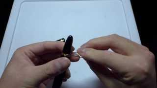 Disassembling a Montblanc 146 Piston