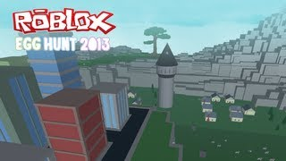 Play the ROBLOX Egg Hunt 2013 today!
