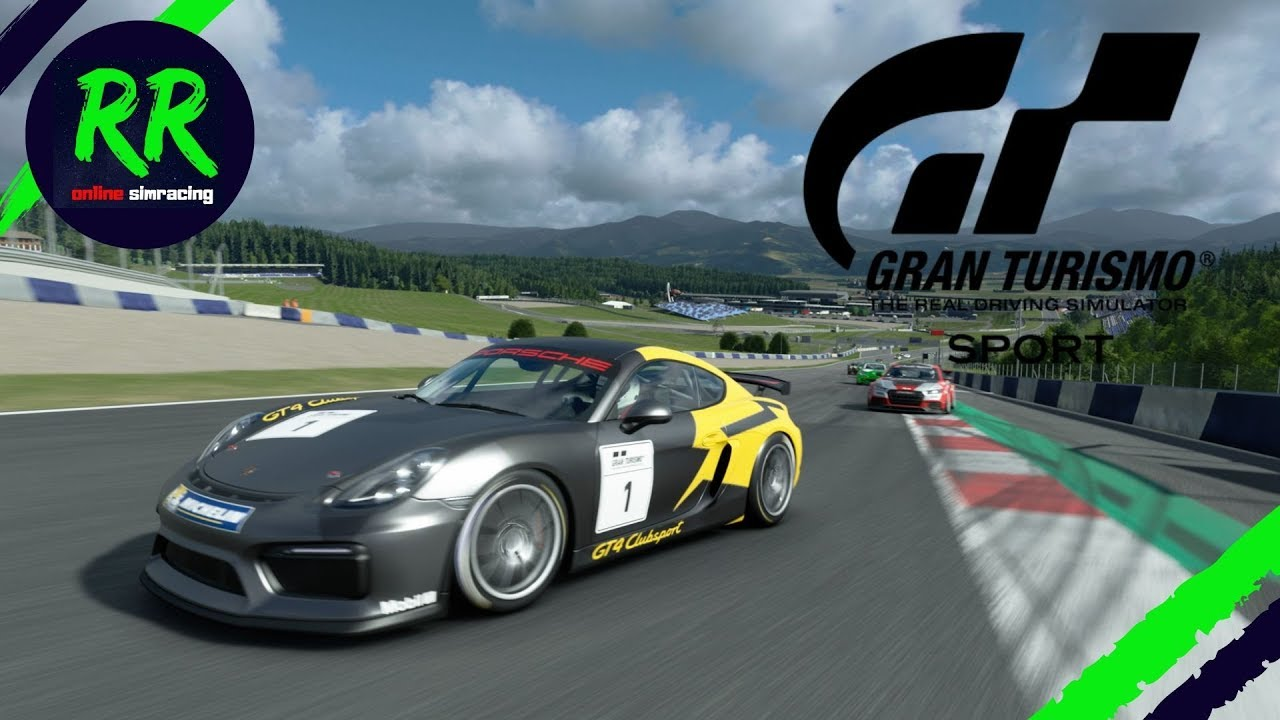 Gran Turismo Sport | Daily Race Gr.4 at Red Bull Ring - Porsche Cayman