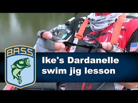 Iaconelli's Dardanelle swim jig lesson