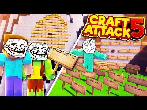 Der GRÖßTE Schilder-TROLL! - CraftAttack 5 #07 - mit Ryole