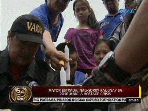 24 Oras: Mayor Estrada, nag-sorry kaugnay sa 2010 Manila hostage crisis