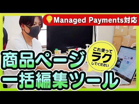 【eBay輸出】Managed Payments導入用、編集ツール~イーベイ~