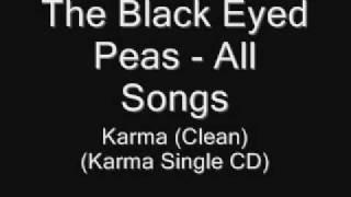 20. The Black Eyed Peas - Karma (Clean Version)