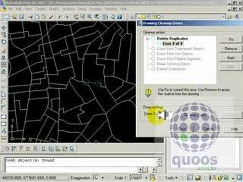 Drawing Cleanup Autodesk MAP 3d 2007   YouTube Drawing Cleanup Autodesk MAP 3d 2007