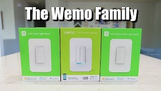 The Wemo Smart Switch Family: New Light Switch, Dimmer, 3-Way Install & Review