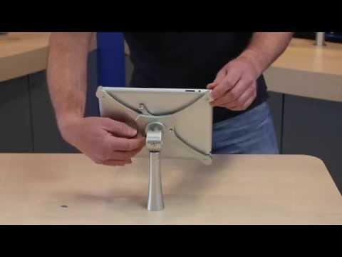 Flatscreen Arms - Mantis Through Desk Tablet Holder