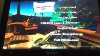 Sinbad Legend of The Seven Seas DVD Menu Walkthrough