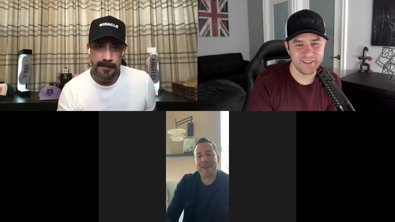Mario López: Entrevista a Howie y AJ