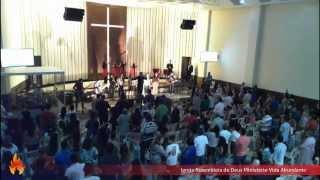 24/08/2014 Domingo - Culto ao vivo - Presb. Alexandre na AD Vida Abundante