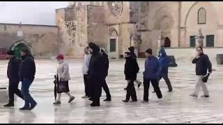 بالفيديو والصور: 30 مستوطناً متطرفاً يقتحمون المسجد الأقصى المبارك