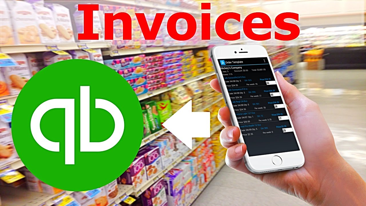 laceup mobile invoicing software for quickbooks creating