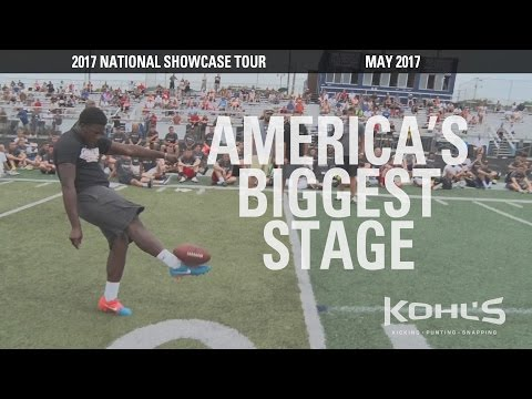 2017 National Kicking Showcase | High School Kickers, Punters, Long Snappers