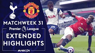 Tottenham v. Manchester United | PREMIER LEAGUE HIGHLIGHTS | 4/11/2021 | NBC Sports