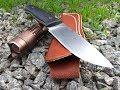 Нож FOX со сталью D2 с фиксированным клинком из Китая mp3