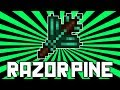 Terraria 1.2.2: Razorpine (NEW Best Magic Weapon?) @demizegg