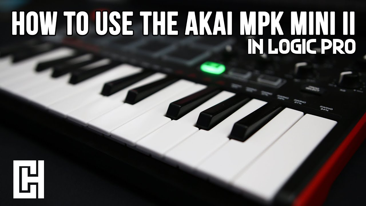 How To Use The AKAI MPK Mini II In Logic Pro Tutorial