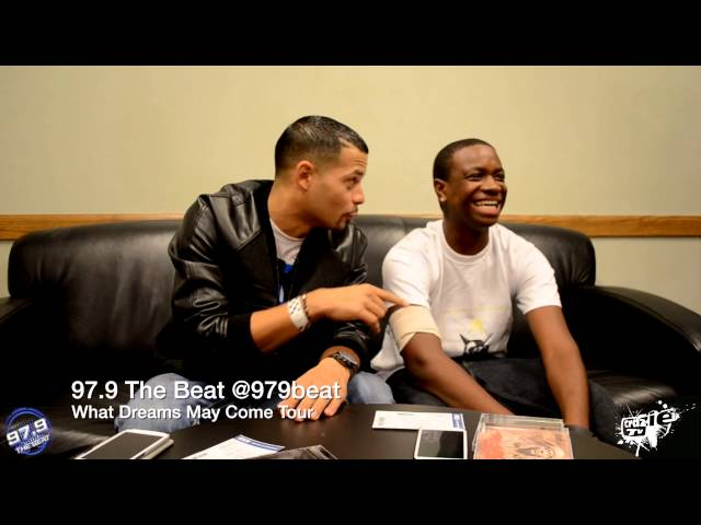 J cole and wale meet and greet with kareem gibbs video 979 the beat m4hsunfo