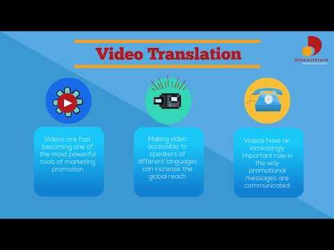 Video Localization for Dubbing