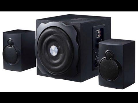 Обзор акустической системы F&D A-521. Review Acoustic System F&D A-521.