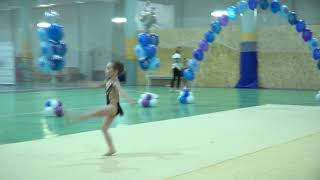 Соревнование по художественной гимнастике в Колпино 2020 год