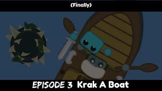 Starve.io Animation - Cursed World. (S1E3) - Krak A Boat.