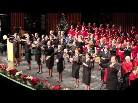 London Citadel Timbrels - Centennial Hall 2013