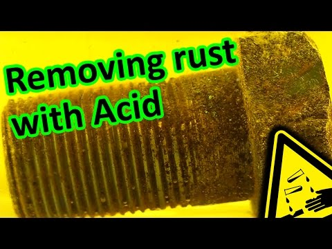 How to remove rust? Acid vs. Bolt | AcidTube-Chemical reactions