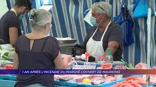 1 an après l'incendie du marché couvert de Maurepas