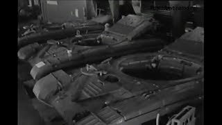 Production in factory T-64A//Производство танка Т-64А