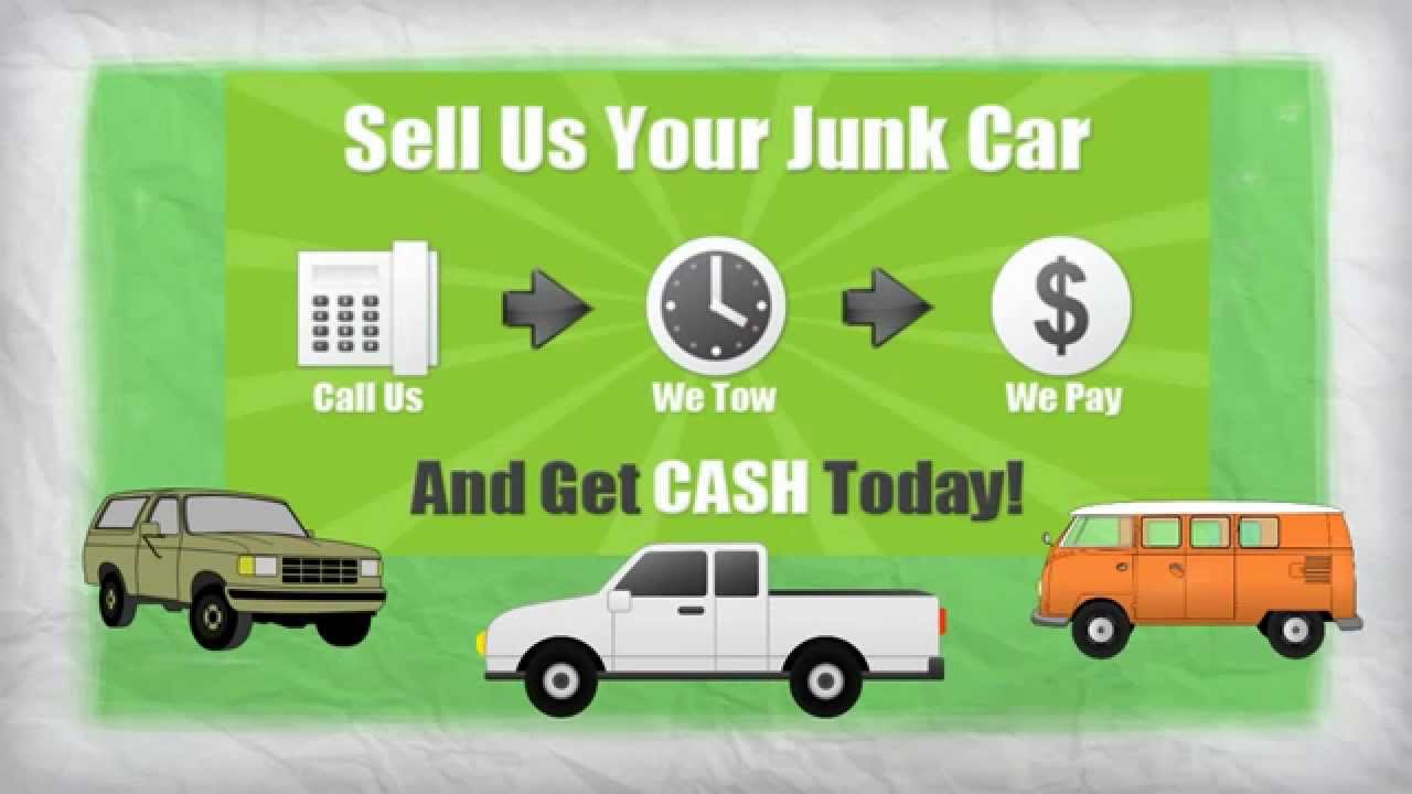 Cash For Junk Cars|Auto Recycling|Cash For Cars - YouTube