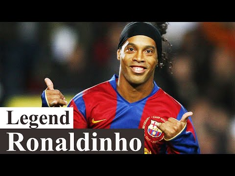 RONALDINHO : Incredible Skills & Best Goals In Football History _ Football Legends :  #1