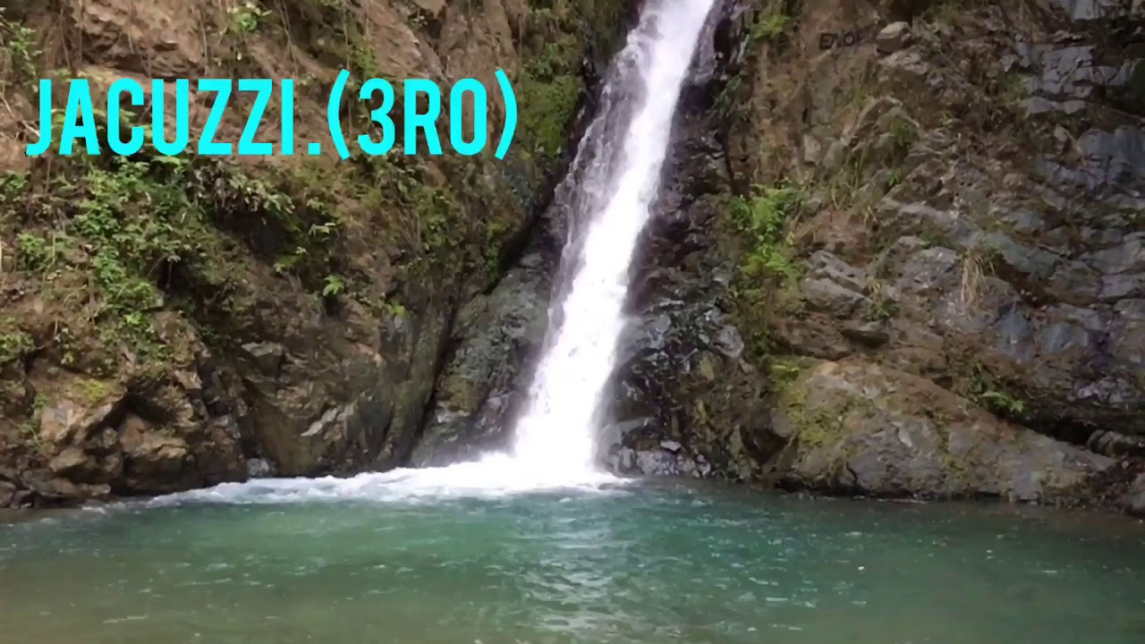 Jacuzzi Natural Jarabacoa.Republica Dominicana Jarabacoa Jacuzzi Naturales Youtube