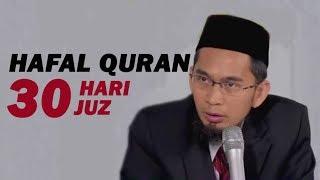 Download lagu Doa Hafal Al Quran 30 Hari 30 juz Ustadz Adi Hidayat Lc MA MP3