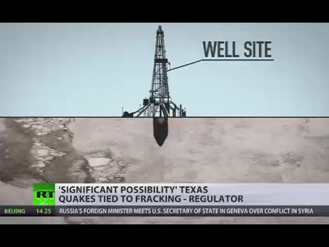Texas earthquakes likely linked to fracking activity - US environmental agency