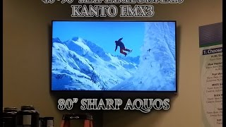 Dual Arm Articulating TV Mount - Kanto FMX3 for 40