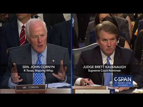 Judge Kavanaugh on Cameras in the Court (C-SPAN)